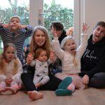 Respect voor deze mama: ze heeft 7 kinderen in allerlei leeftijden!