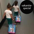 Als alleenstaande ouder met een tweeling naar Spanje. En dan lijkt daar ineens je koffer kwijt…