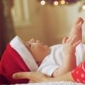 Marit kreeg een echt kerstkindeke op Tweede Kerstdag