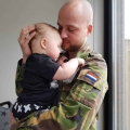 Ons gezinsleven met een vader als militair is op zijn zachts gezegd heftig…