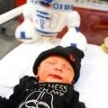 """Bevallingsverhaal: """"Er is onlangs een heuse Star Wars baby bij ons geboren!"""""""