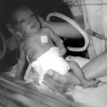 4 maanden ziekenhuis voor deze prematuurgeboren baby. Oef!