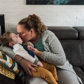 Senn is met 22 maandjes oud in mijn armen overleden