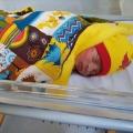 Baby Noor werd een prachtige ster