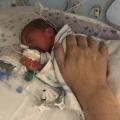 Hugo was geboren met 30 weken en ging met voedingssonde naar huis