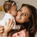 Ann Dominique deelt haar prachtige bevallingsverhaal exclusief met Kids en Kurken