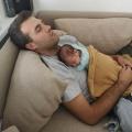 """Papa Chris: """"We zaten op 29 weken en de baby werd hoe dan ook geboren"""""""
