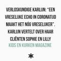 """Verloskundige Karlijn: """"Een vreselijke echo in Coronatijd maakt het nóg vreselijker"""". Karlijn vertelt over haar cliënten Sophie en Lilly"""