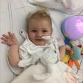 Baby Jayme zou direct een sonde krijgen en moest in het ziekenhuis blijven