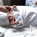 Tijdens mijn zwangerschap kreeg ik een psycholoog, omdat men dacht dat het spugen ergens vandaan moest komen
