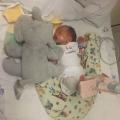 Geboren met 33 weken en een gebroken dijbeen…