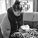 Dagboek van een sterrenmama: Mijn verloofde ving pasgeboren Faith op die 16 weken oud was