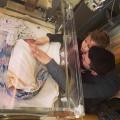 Baby Puck miste twee stukjes DNA op chromosoom 1 en op 15, zij is de eerste op deze wereld