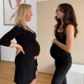 Abish en Elise zijn vriendinnen en vertellen over hun gelijklopende derde zwangerschap