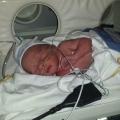 Baby Jesley kwam 6 weken te vroeg, maar hoefde amper in een couveuse