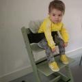 Wanneer kan een baby in een stoeltje zitten?