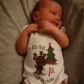 Sanne kreeg een mooi kerstcadeau onder de boom