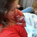 Na de bevalling kreeg Denise een 'blackout' en reageerde ze alleen nog op pijnprikkels