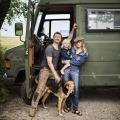 Sebastiaan, Kim en kleine Ziggy willen voor jaren en jaren gaan reizen