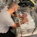 Baby Pip had ontlasting in de longen