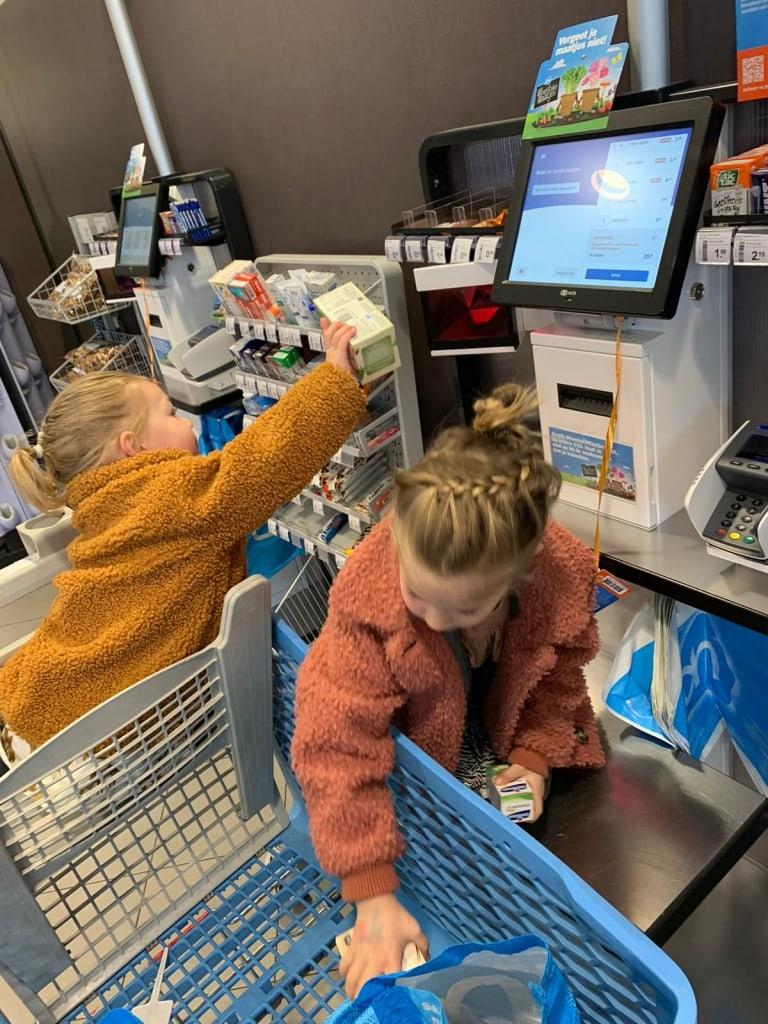 boodschappen doen supermarkt