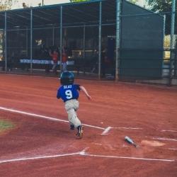 Een potje honkbal spelen