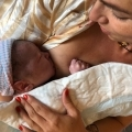 Mijn bevalling op de baarkruk